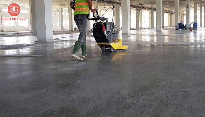 Dịch vụ dánh bóng sàn bê tông tại phan thiết, bình thuận