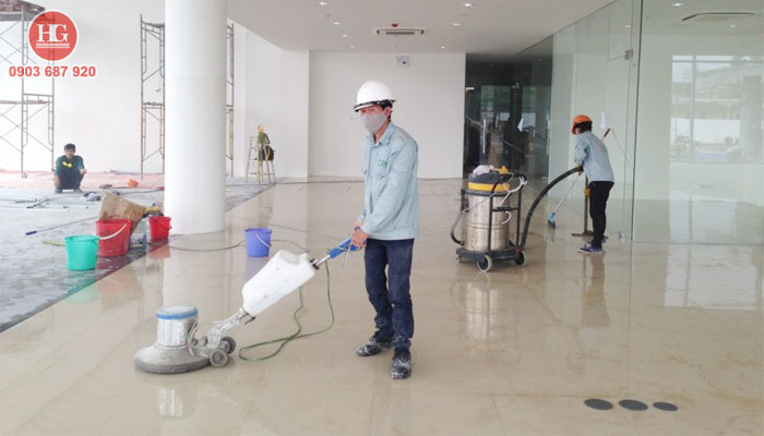 Dịch vụ đánh bóng sàn gạch men tại phan thiết, bình thuận