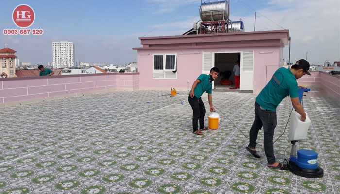 dịch vụ dọn nhà sau xây dựng