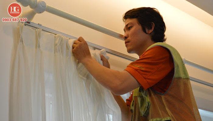 dịch vụ giặt màn cửa tại nhà ở phan thiết, bình thuận