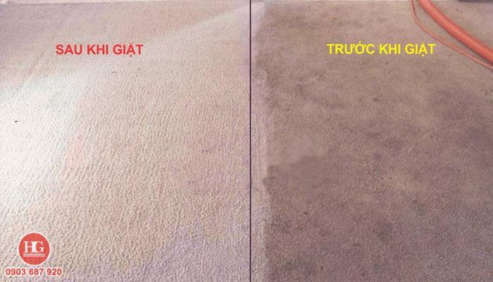 trước và sau khi giặt thảm văn phòng tại phan thiết, bình thuận