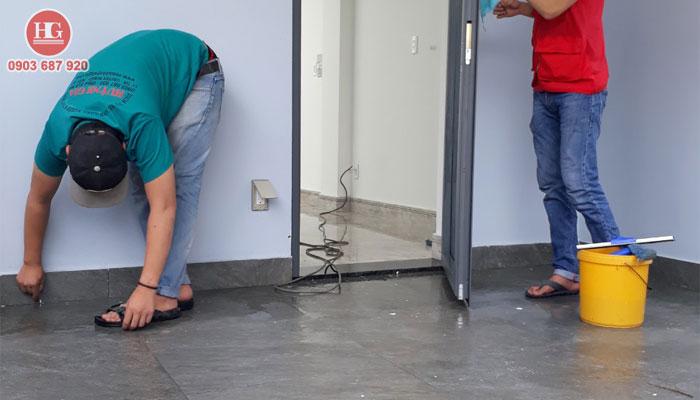 vệ sinh công trình sau xây dựng giá rẻ tại phan thiết